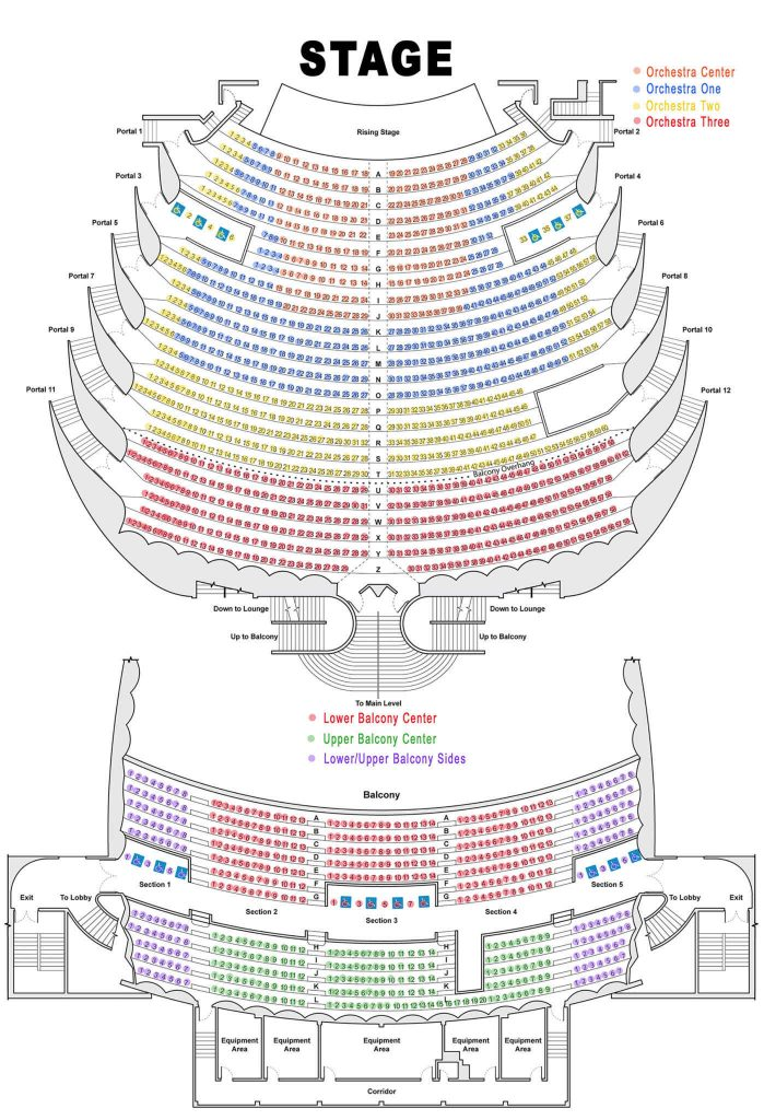 Pics Of Bjcc Concert Hall Seating Chart With Seat Numbers