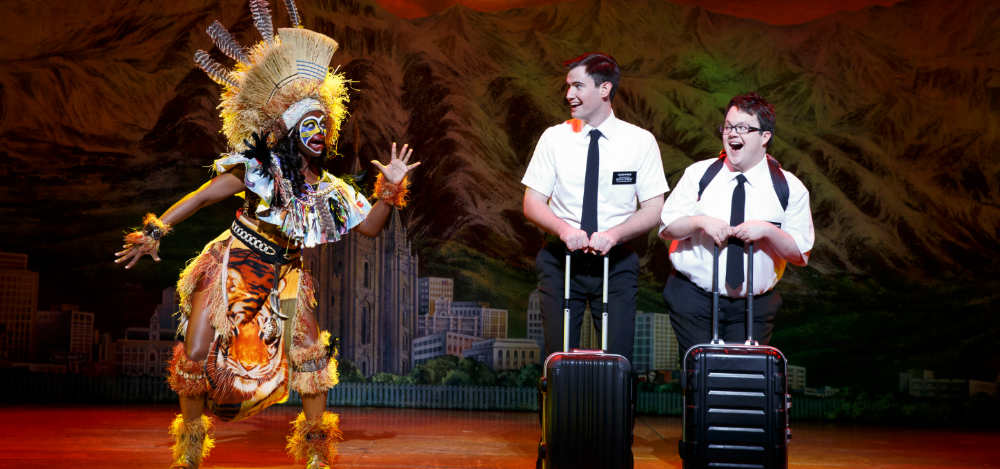 The Book of Mormon production photo Broadway Theatre League