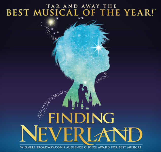 finding neverland broadway theatre league