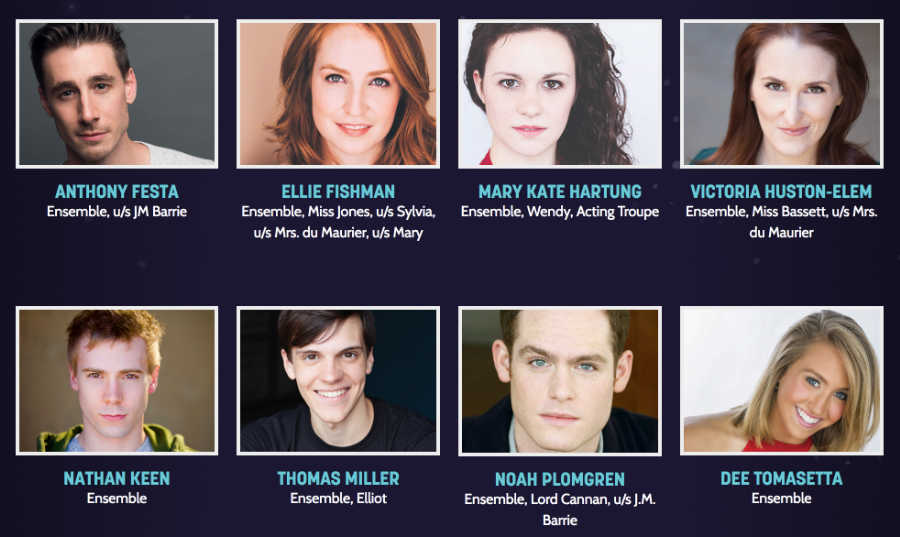 finding neverland cast_2