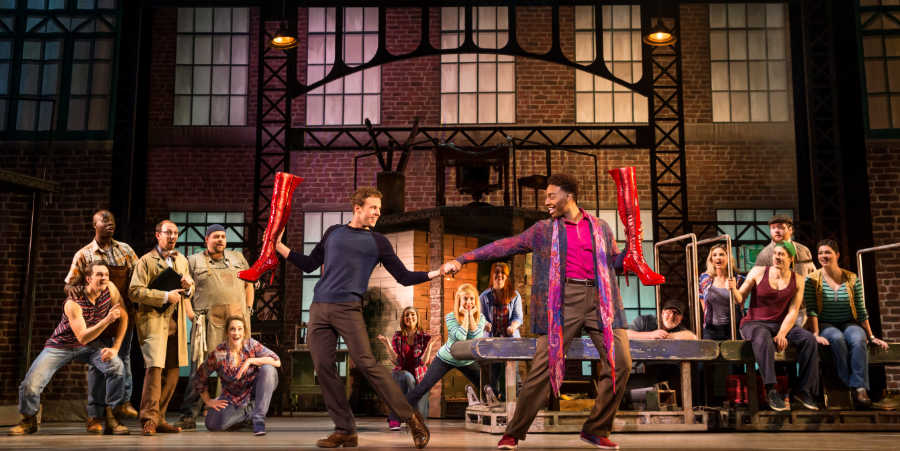 kinky boots broadway theatre league production