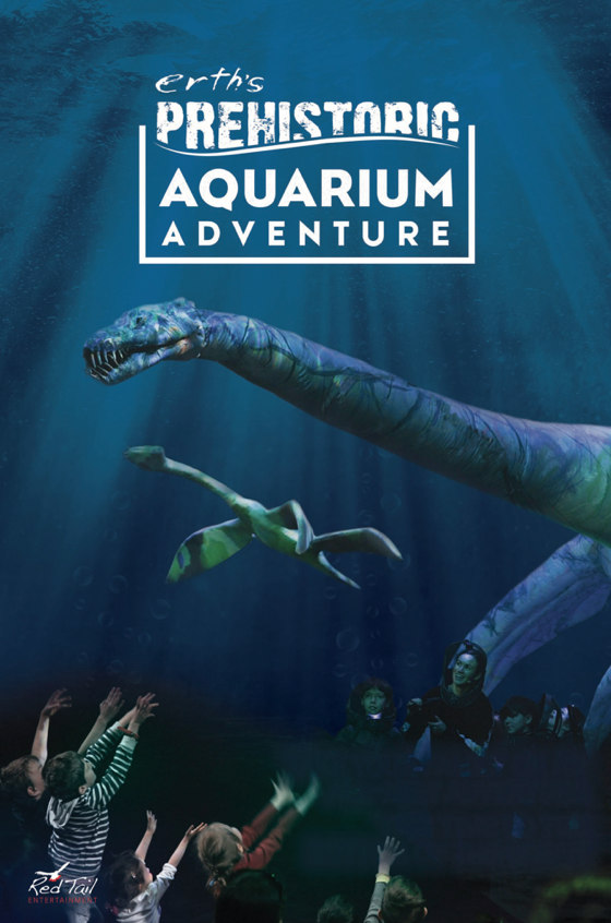 erths prehistoric aquarium adventure