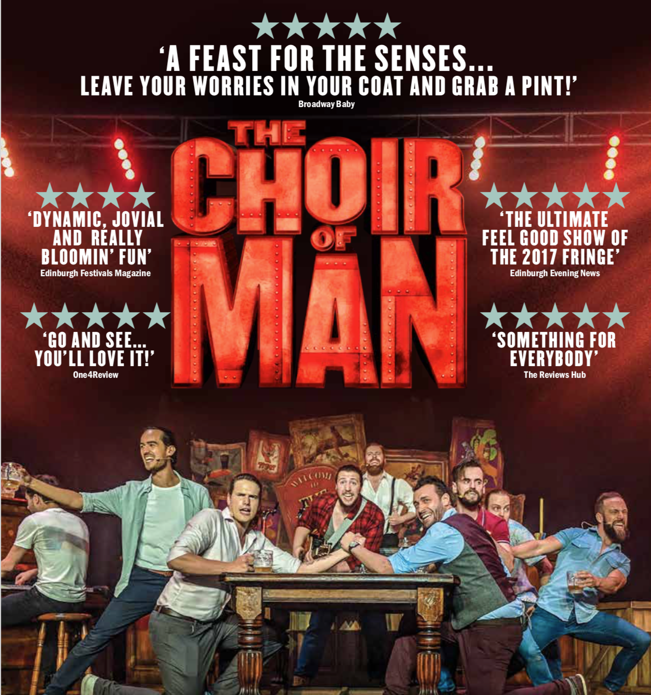 Choir of man comes to huntsville